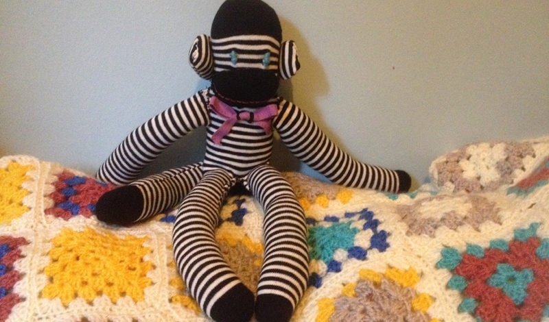 DIY: How to make a sock monkey