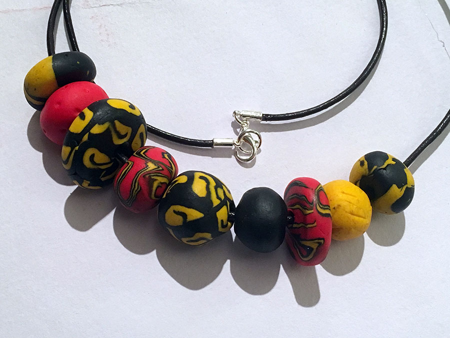 Fimo necklace